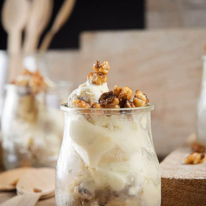 Keto Butter Pecan Ice Cream
