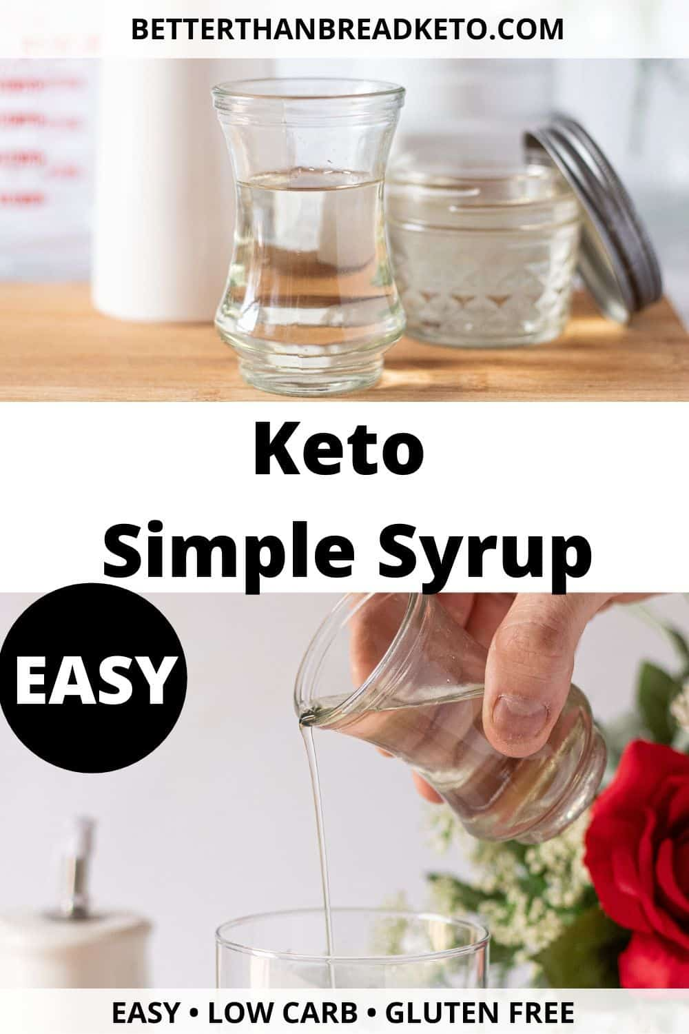 Keto Simple Syrup
