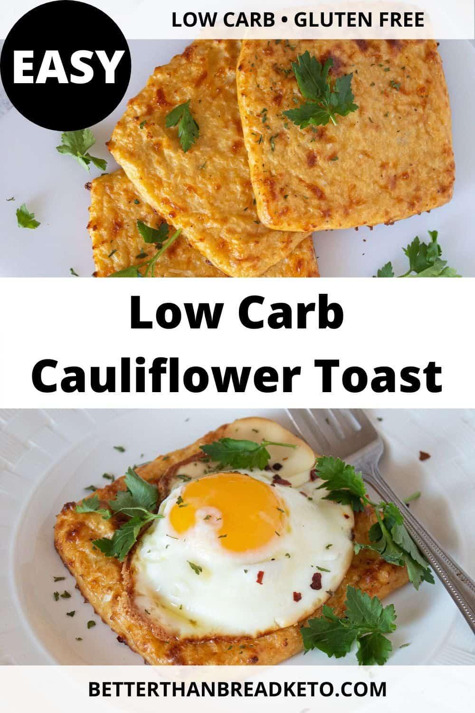 Low-Carb Cauliflower Toast