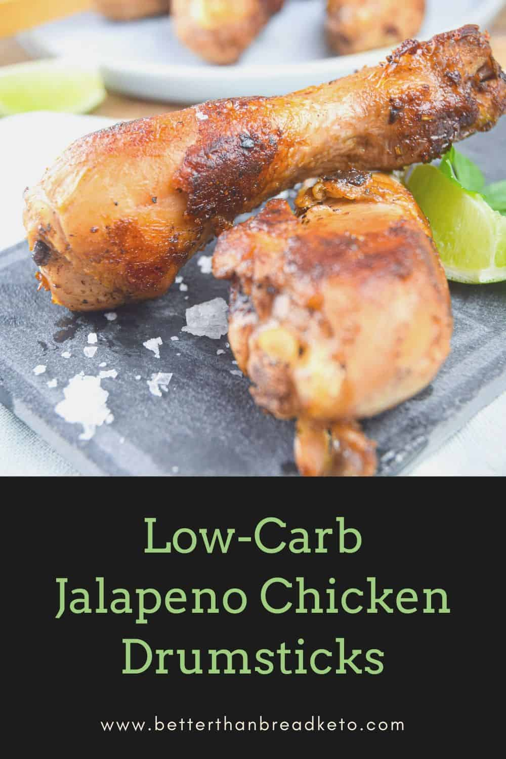 Low-Carb Jalapeno Chicken Drumsticks