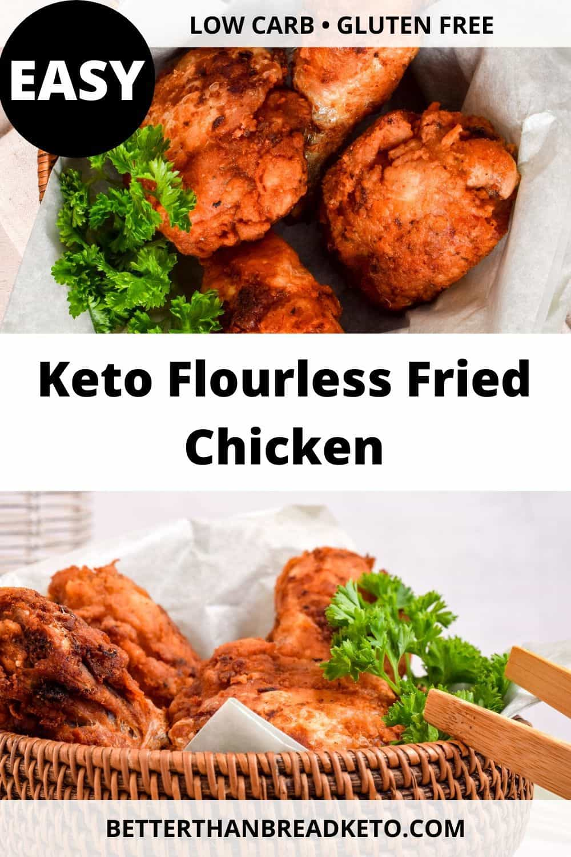 Keto Flourless Fried Chicken