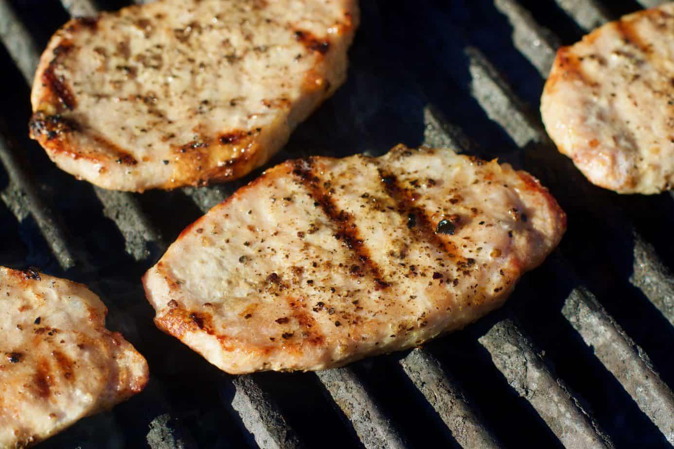 Keto Grilled Sous Vide Pork Chops