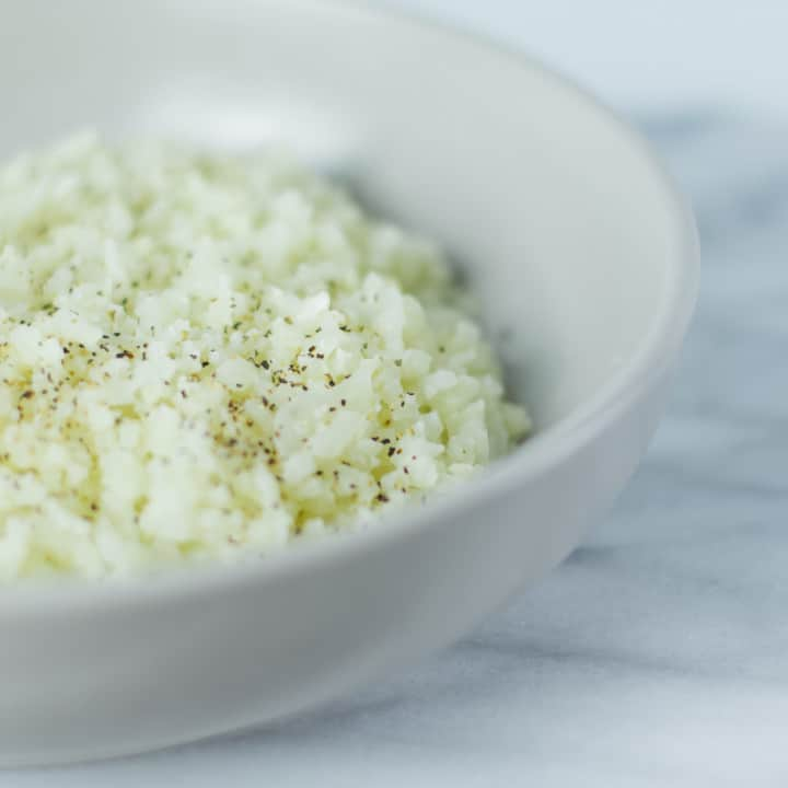 Keto Cauliflower White Rice