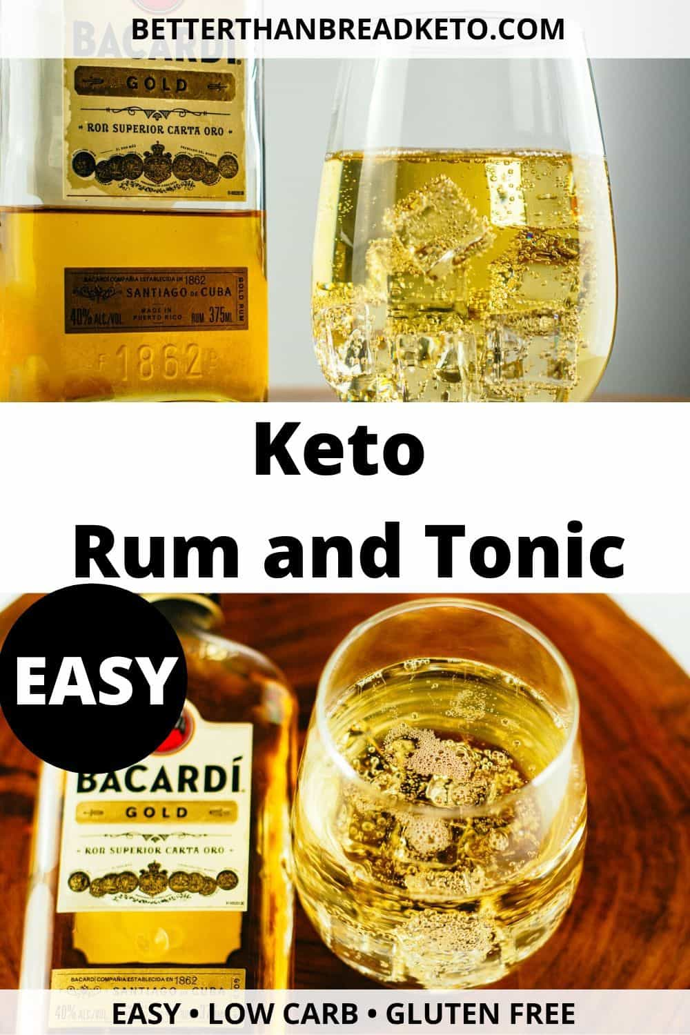 Keto Rum and Tonic