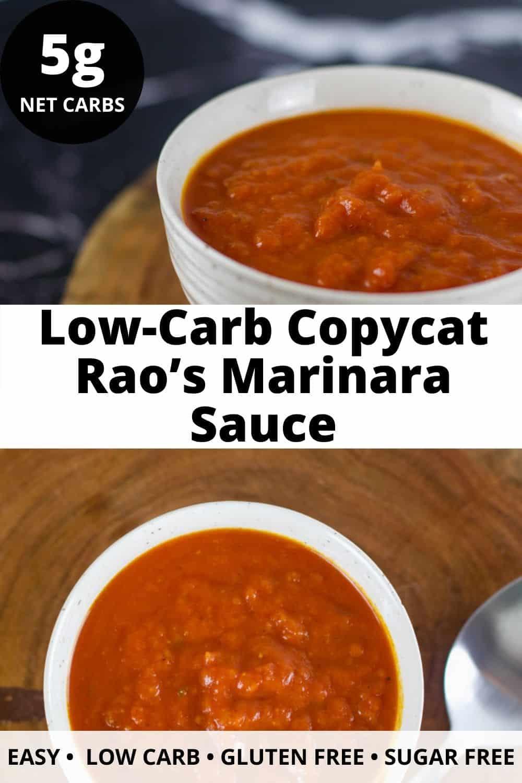 Low-Carb Copycat Rao's Marinara Sauce
