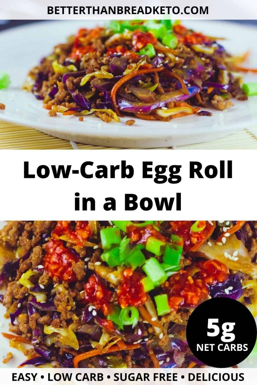 Low-Carb Egg Roll in a Bowl