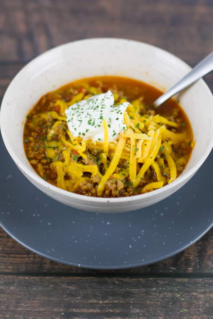 Low-Carb No Bean Chili